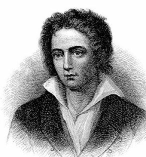 Poet Percy Shelley